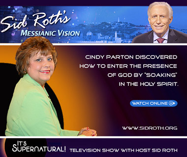 Watch Cindy Patron on Sid Roth